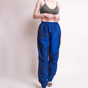 SALE Vintage high waist windbreaker track pants